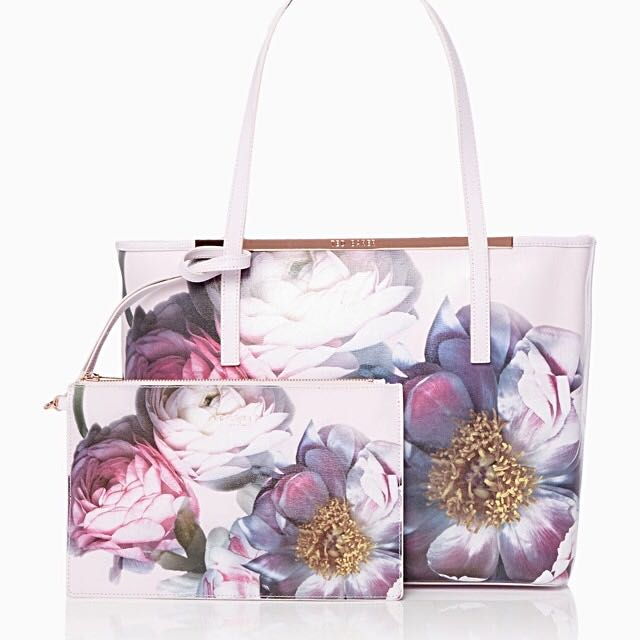 166b511e59 Brand New Ted Baker Sunlit Floral Bag, Women's Fashion, Bags & Wallets on  Carousell