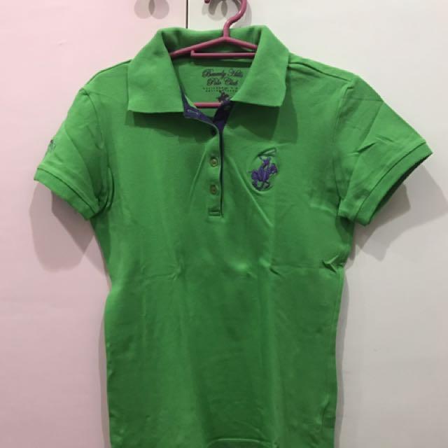 Bright Green Polo Shirt