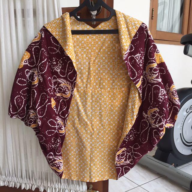 Cardi Batik Bolak Balik
