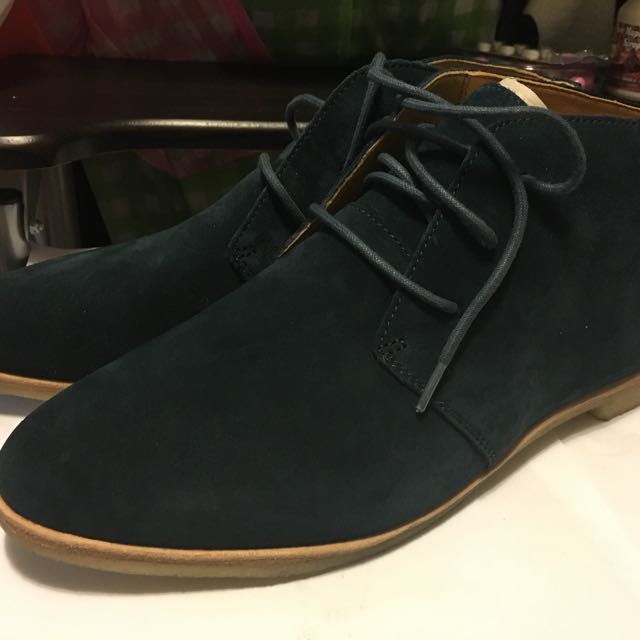 Clarks Green Suede Boots 靚皮