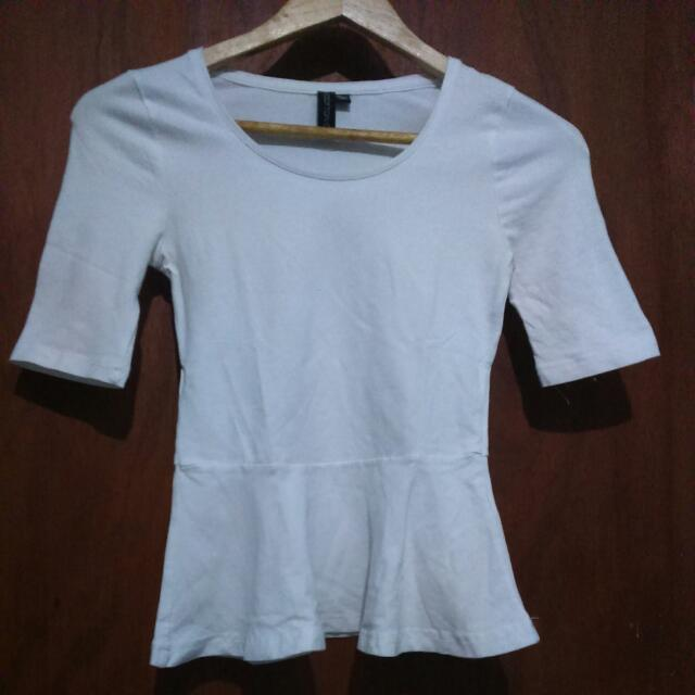 Cotton On Peplum Top