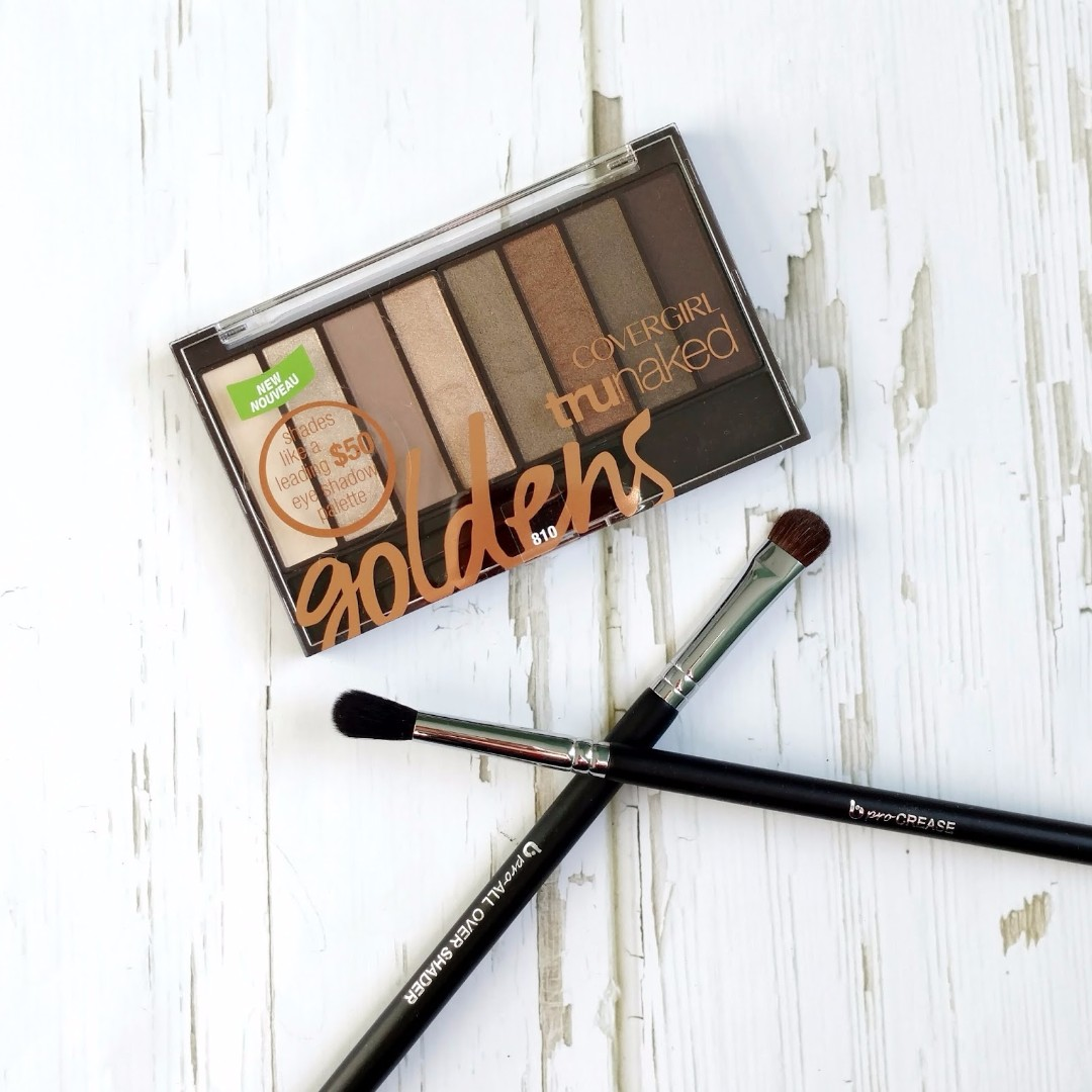 Covergirl trun naked eyeshadow palette 眼影盤(類似 Urban Decay 眼影盤)