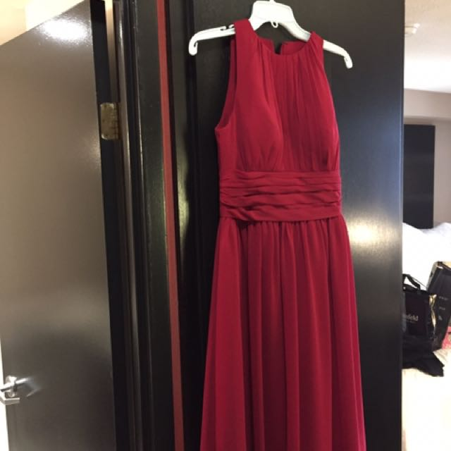 Cranberry Red Gown ( Dress)