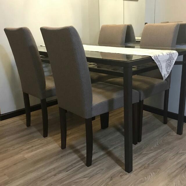 Dining chairs $85/pc