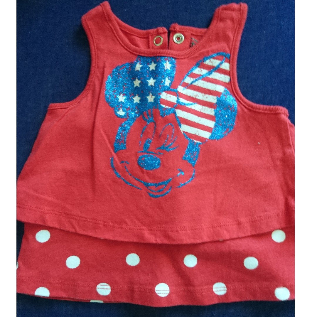 Disney Racerback Tank Top/Fisher Price Sando