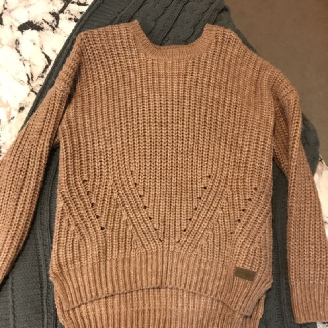 Element Knit Jumper Size Small