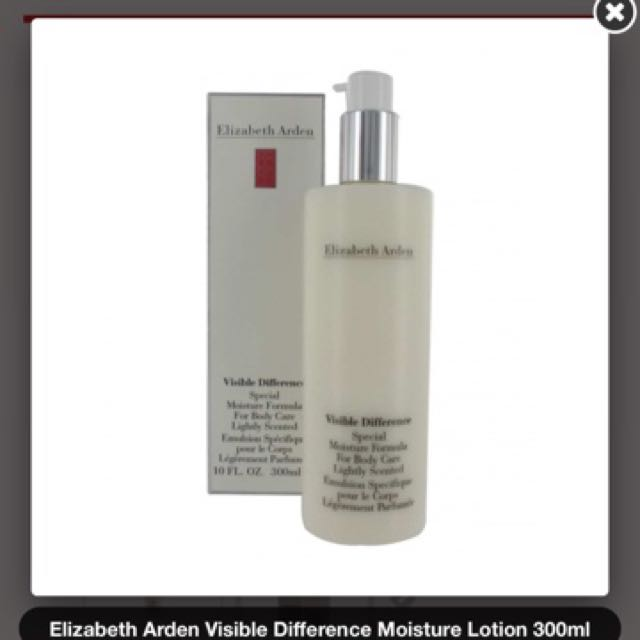Elizabeth Arden Visible difference  body or face cream