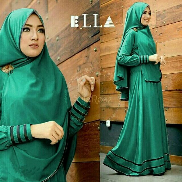 Kedaibaju Pakaian Muslim Baju Muslim Murah Syari Hijab Gamisyolanda Source · Baju Gamis Muslim Syari Fashionable