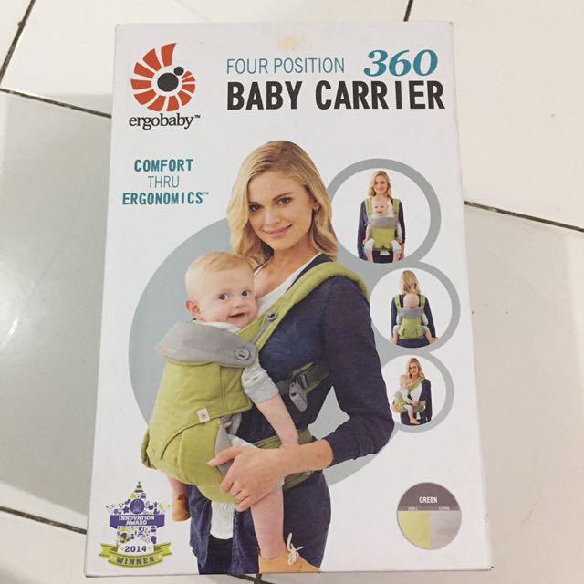 Ergobaby Carrier / Gendongan Bayi