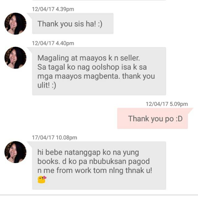Feedback from Buyers 😁😘