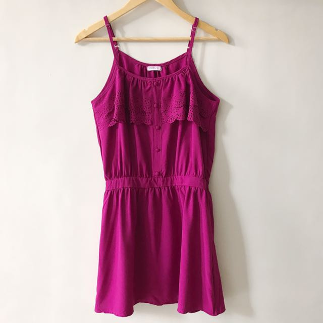 Folded and Hung Summer Dress