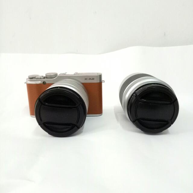 FUJIFILM XA 2 Double Kit 16-50mm & 50-230mm / f.3.5-5.6 OIS II