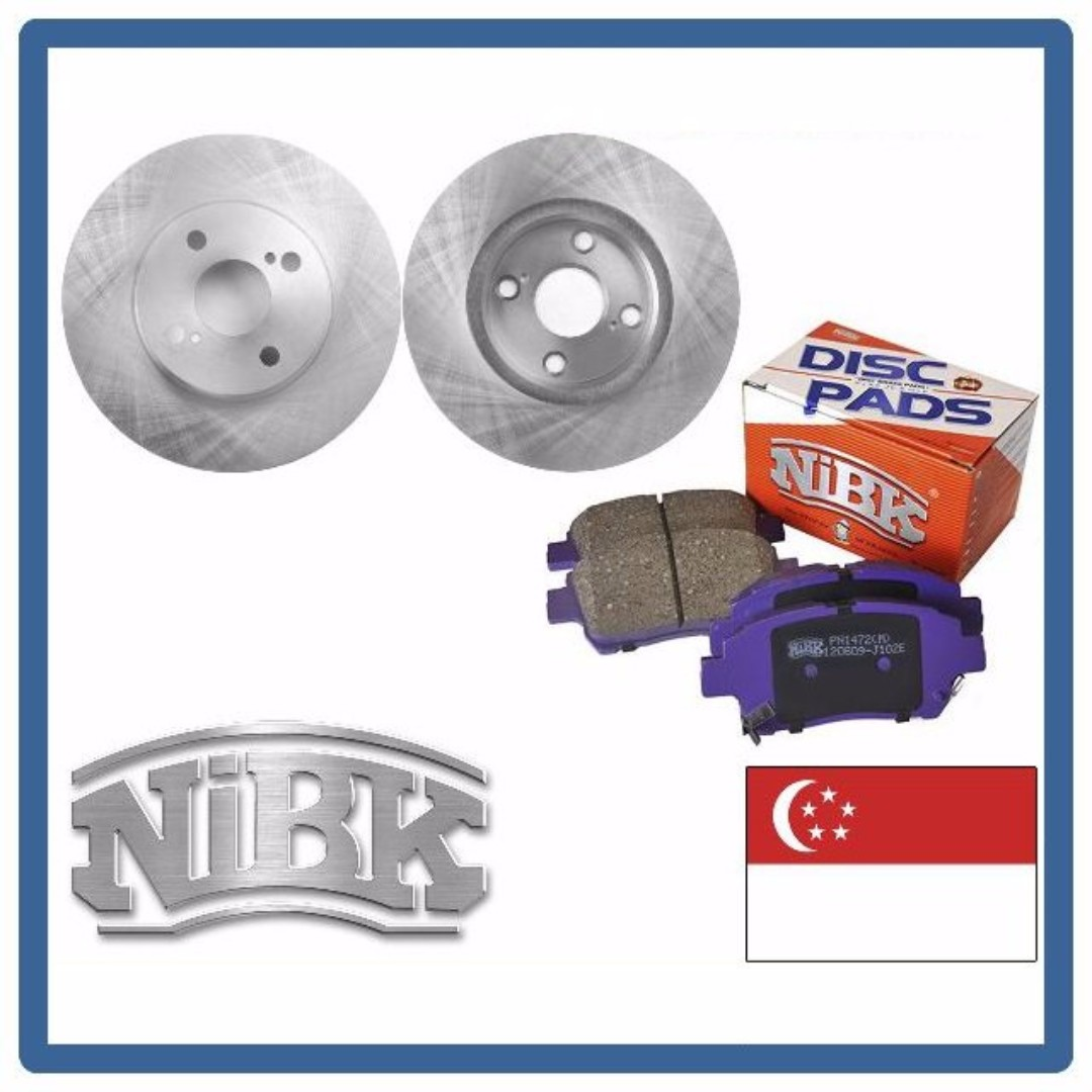 Brake Pads And Rotors Prices >> Get 15 Off On Regular Price For Nibk Brake Disc Rotors