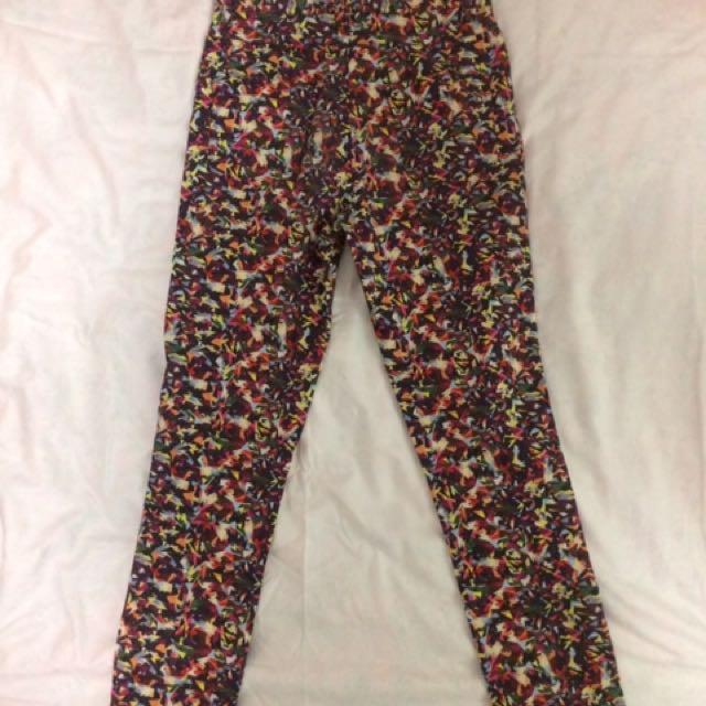 Gorman High Waist Pants (Ellie Malin) Size 8