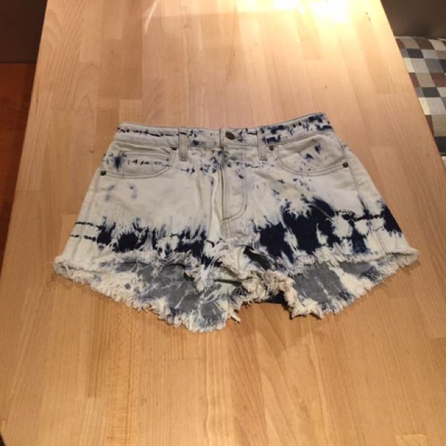 Guess High Rise Shorts