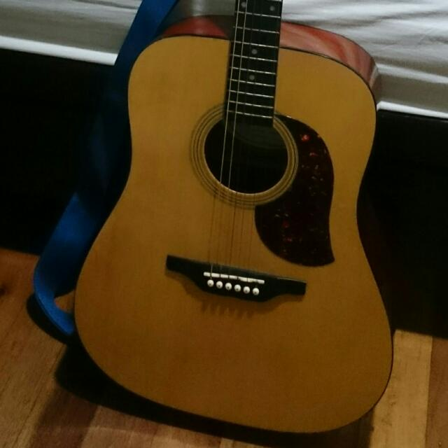 Guitar Bucklay by Washburn's Acoustic
