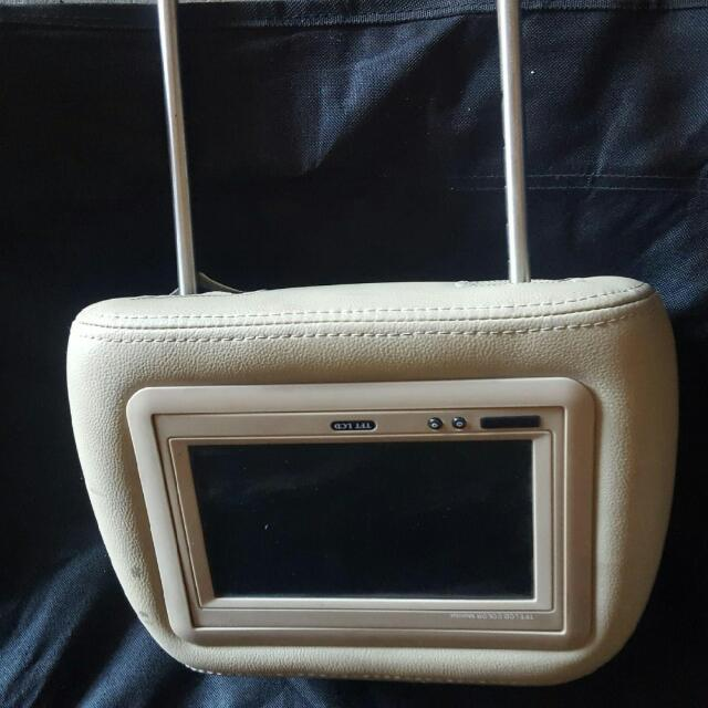 Head Rest With Tv's