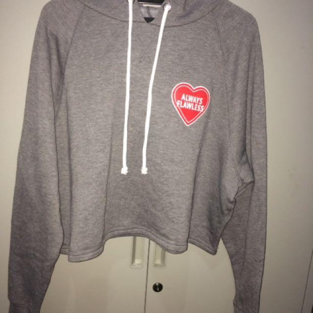 H&M always flawless hoodie top
