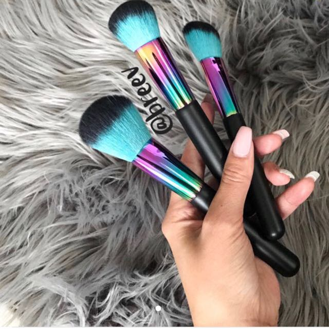 Holographic Makeup Brushes