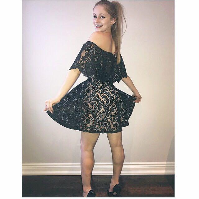 Honey F/F OTS Dress