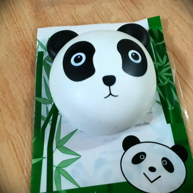 I Love Panda Squishy