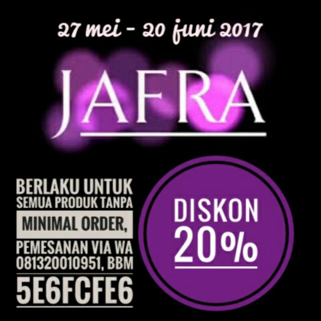 Jafra SALE!!!!  Grab It Fast