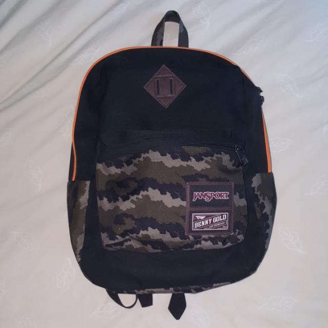 """JanSport x Benny Gold Superbreak 15"""" Laptop Backpack - Fog Camo"""