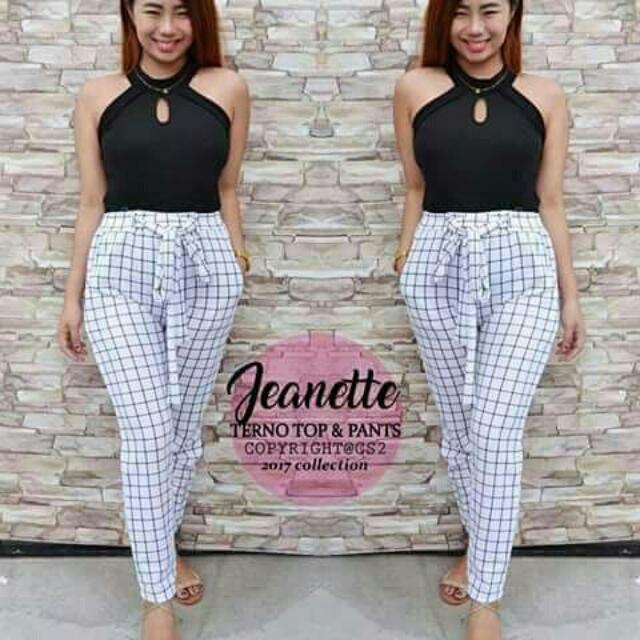 JEANETTE TOP & PANTS