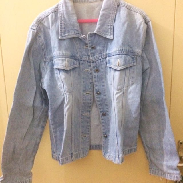 Jeans Washed Jacket