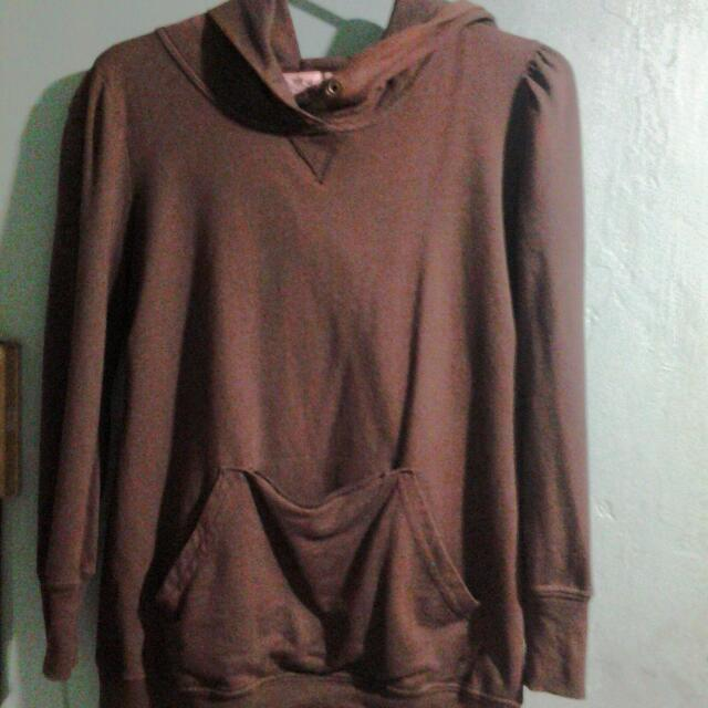 Juicy Couture Brown Hoodie