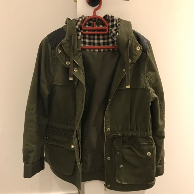 Khaki Light Parka
