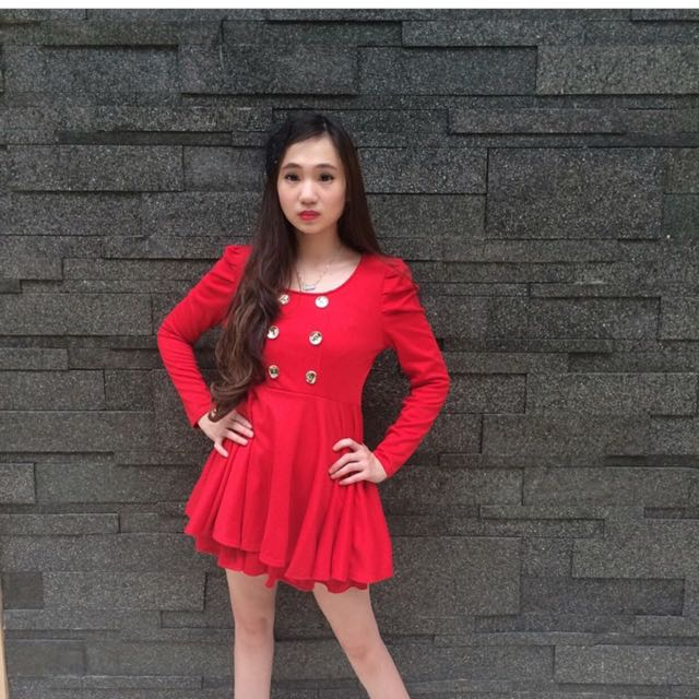 KIMBERLY RED DRESS