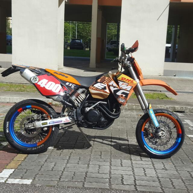 KTM 400 EXC MOTARD, Motorbikes, Motorbikes for Sale, Class 2A on ... a64e9d976f