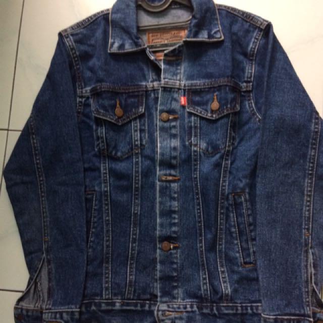 levis jacket jeans