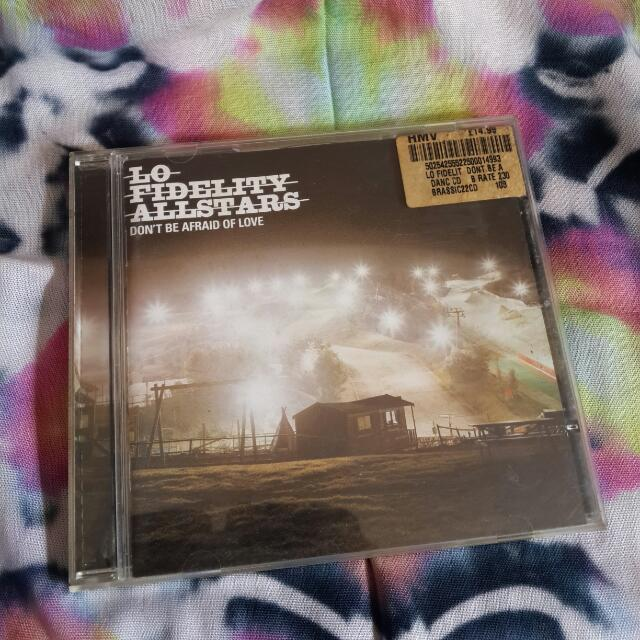 Lo Fidelity All star - Don't Be Afraid Of Love Cd