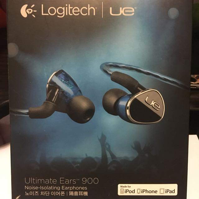 Logitech Ue 900 專業 耳機 Earphones Shure  Iphone