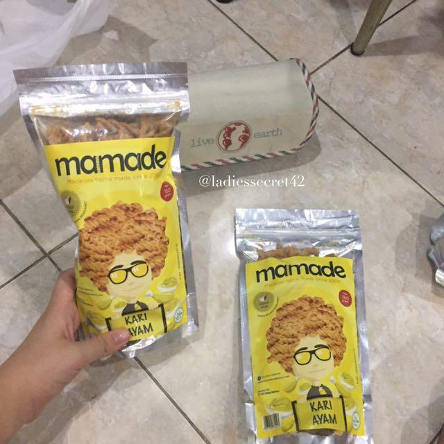 MAMADE MAKARONI RASA KARI AYAM, Food & Drinks, Packaged Snacks on Carousell