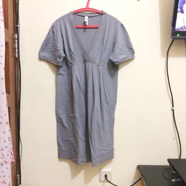 Mini Dress Grey Size M