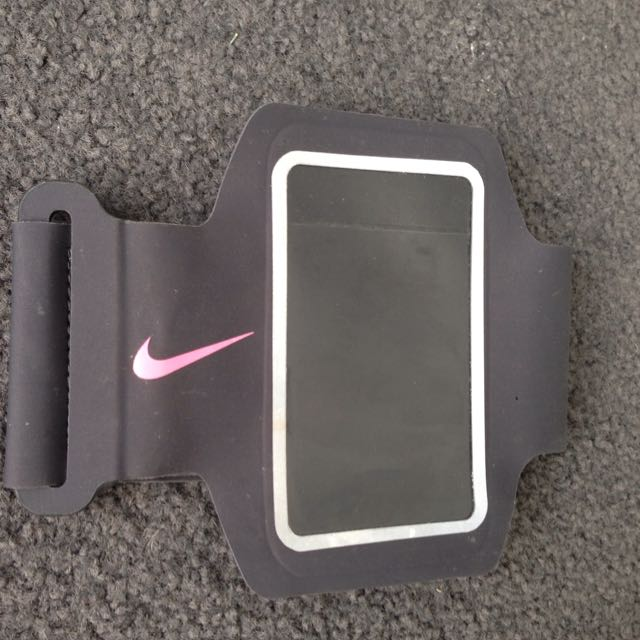 Nike iPod Arm Band Pink And Grey!
