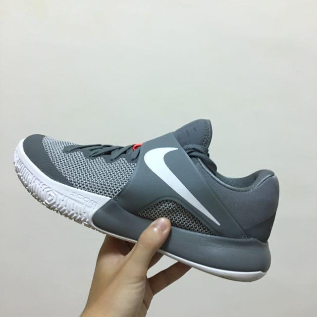 Nike Zoom Live Ep 2017 灰色 籃球鞋 低筒8.5 26.5 Basketball