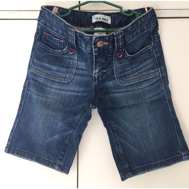 Old Navy Knee Length Denim Shorts