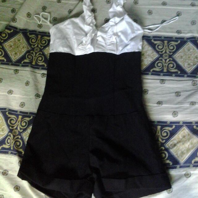 Romper (Shorts And Lace Top) Imported