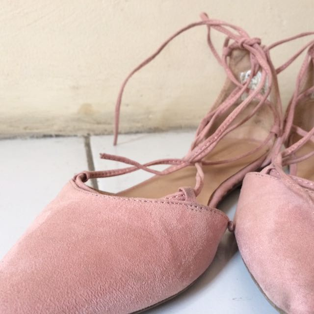 Payless Pink Ballerina Shoes (christian Siriano)