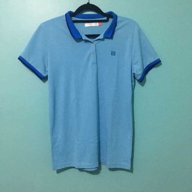 Penshoppe Light Blue Polo Shirt