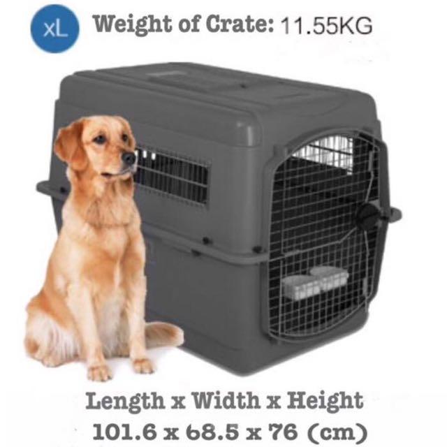 PETMATE US Brand Pet Travel Crate