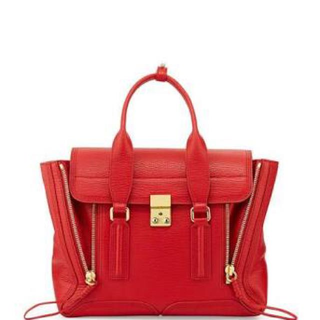 Phillip Lim Medium Pashli Red