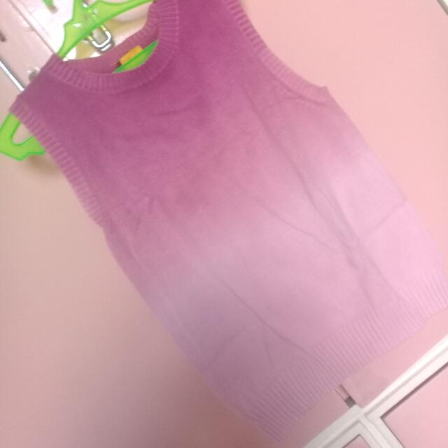 0eabe1b9cb4 Pink Ombre Sleeveless Top on Carousell