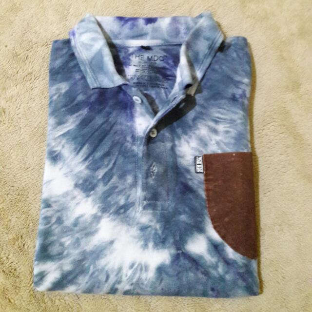Polo Shirt Tie Dye