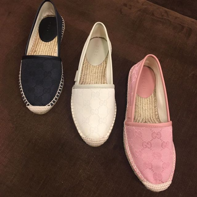 PRE ORDER: SALE AUTHENTIC GUCCI ESPADRILLES