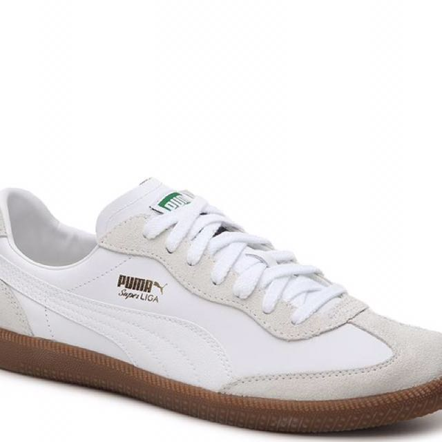 new styles 18fed 7d9ae Puma Super Liga Og Retro (White), Men s Fashion, Footwear on Carousell